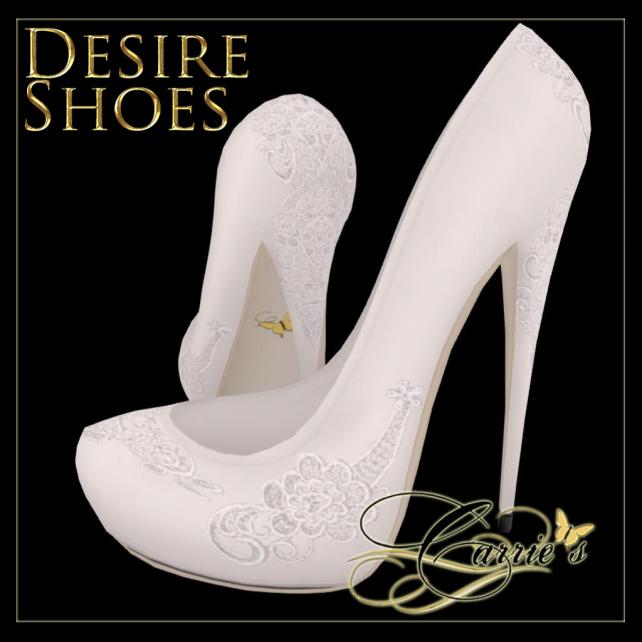 Wedding Desire Shoe Ad