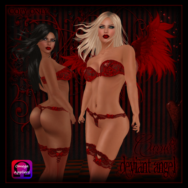 Deviant Angel Ad red